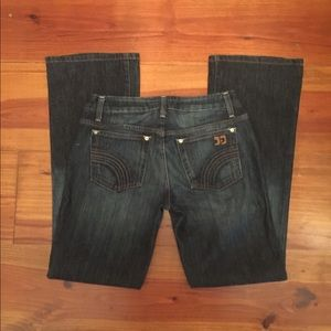 Joe's 'Honey' Fit Jeans Bootcut Sz 28 Dark Wash